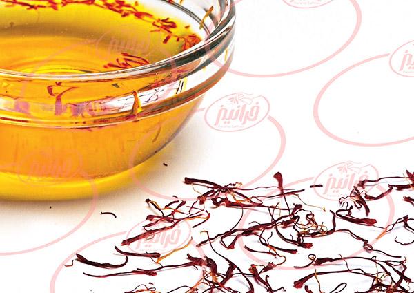 صادرات روغن اسانس زعفران به صورت لیتری