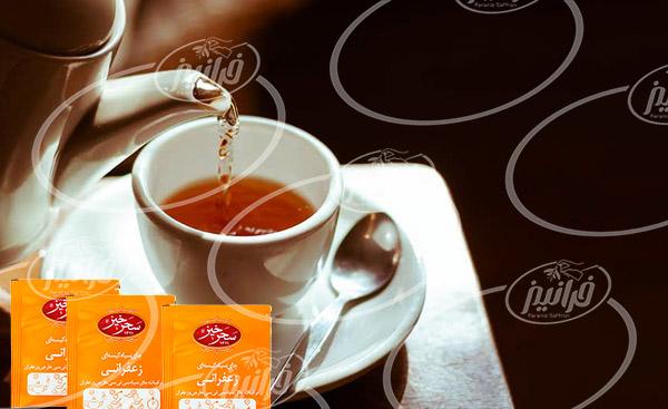 کارخانه چای زعفران سحرخیز صادراتی