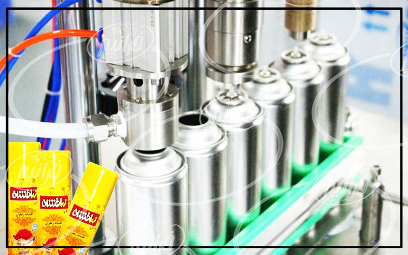 پخش اصلی محصولات شرکت افشانه زعفران زرافشان