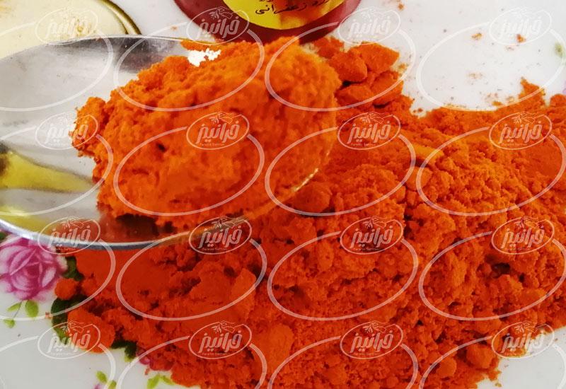 خرید پودر زعفران 100 درصد طبیعی