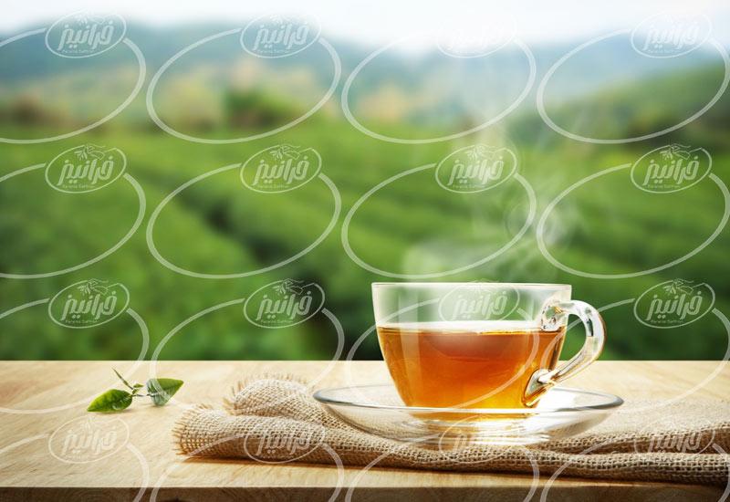 سایت اصلی عرضه چای زعفران کیسه ای 20 تایی