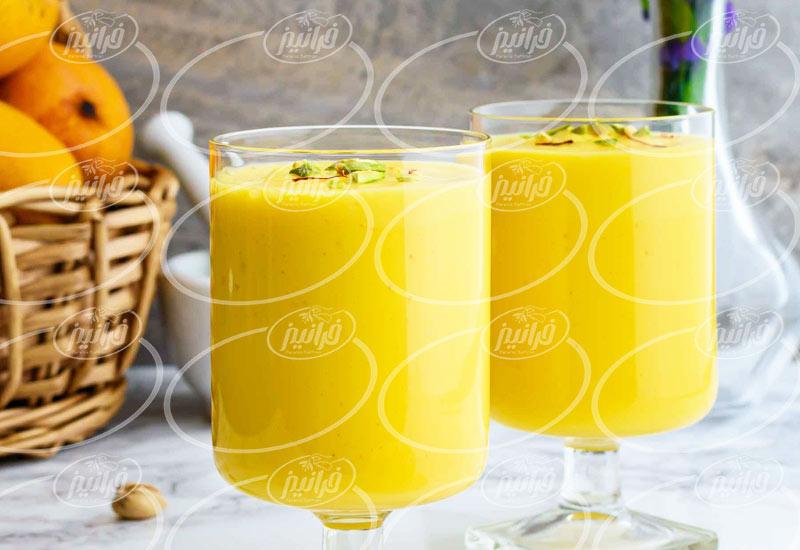عرضه انواع نوشیدنی زعفرانی خوشمزه