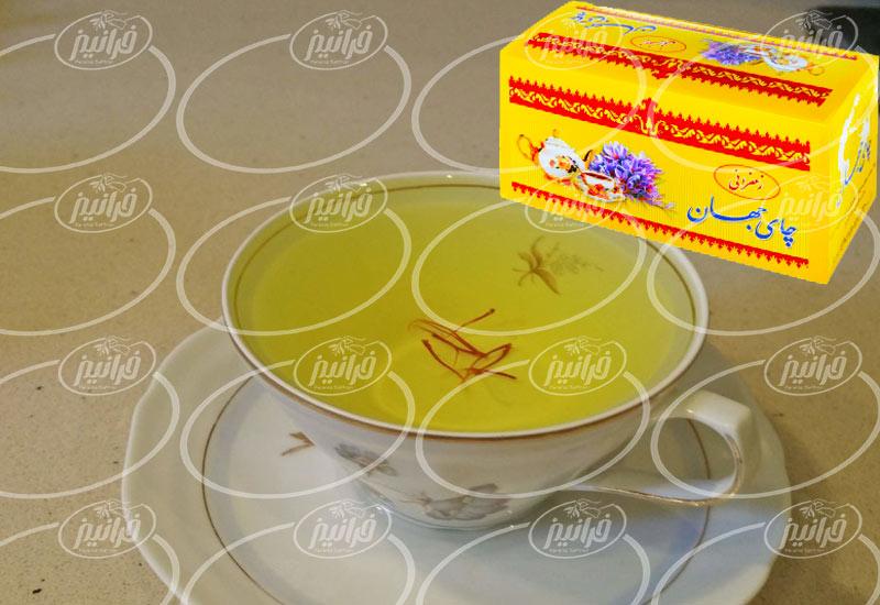 قیمت چای جهان زعفران برای سفارشات عمده