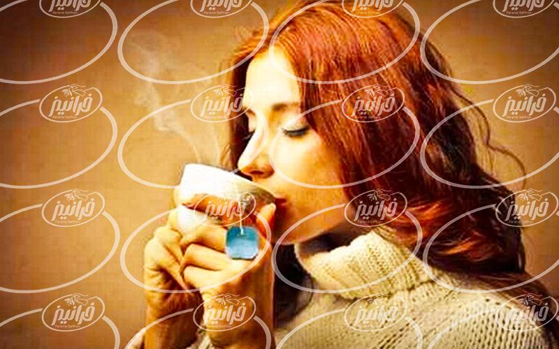 بازار توزیع چای نپتون زعفرانی بسته بندی