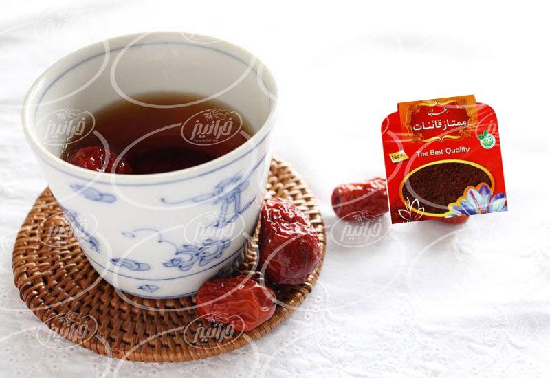 صادرات پودر زعفران قائنات مخصوص رستوران ها