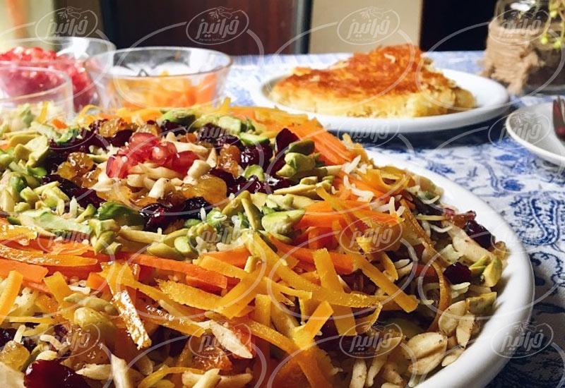 تولید کننده اصلی رنگ زعفران خوراکی