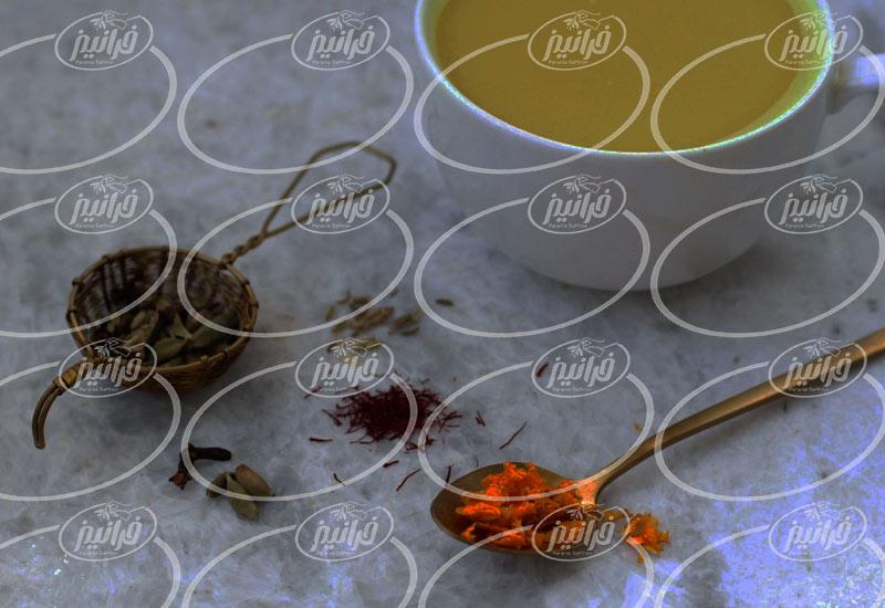 قیمت دمنوش نوین زعفران در هلند و ایتالیا
