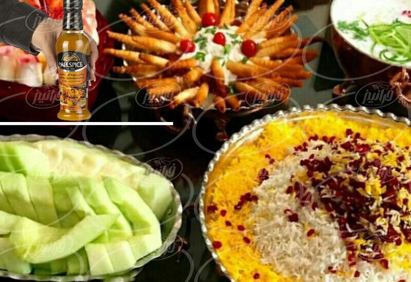 انواع نوشیدنی زعفران در بازار ایران