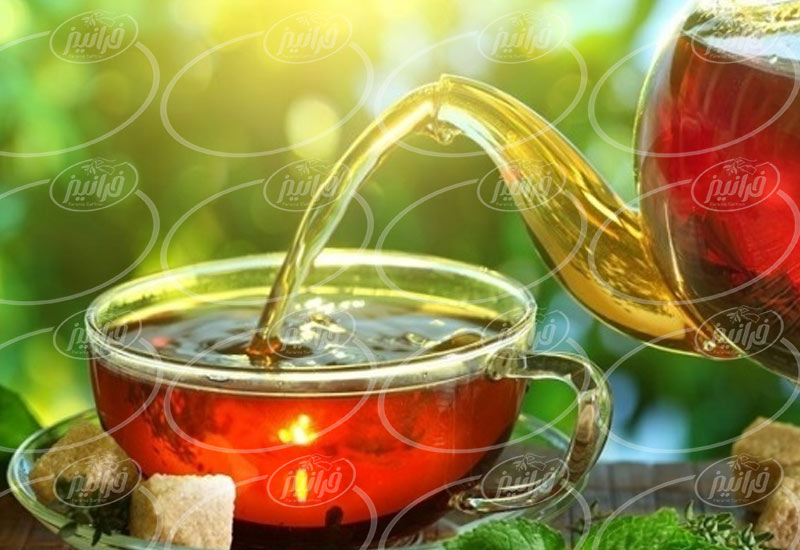 حاشیه سود تجارت چای نپتون زعفرانی