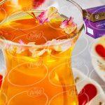 عرضه چای زعفرانی تکسو با عطر عالی