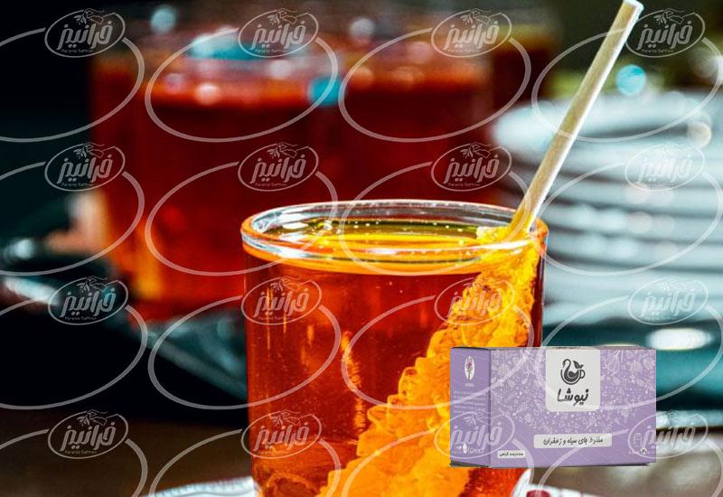 شرکت فروش دمنوش زعفران نیوشا در اهواز